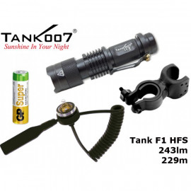 LED Baterka Tank007 F1 H Full Set, GP Alkaline 1,5V