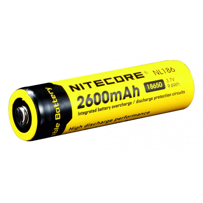 Aku 18650, Li-Ion 3,7V, 2600mAh