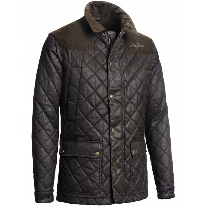 Moorland Quilted Coat Brown