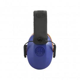 Sluchatká strelecké GridShell - Modro-oranžové